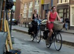 normal people ride in Amsterdam3