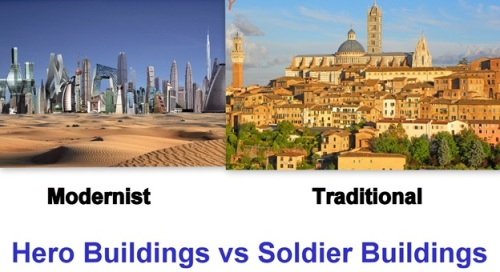 Hero bldgs vs soldier bldgs