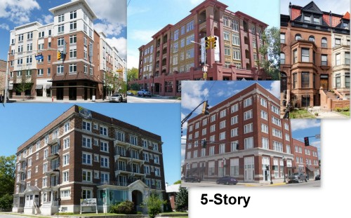 5-story collage