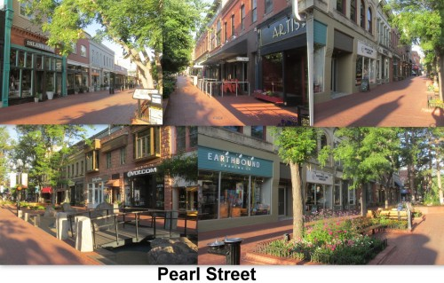 Pearl St collage