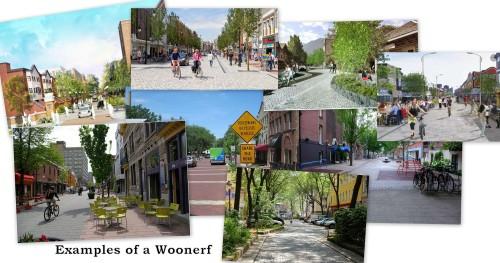Woonerf examples